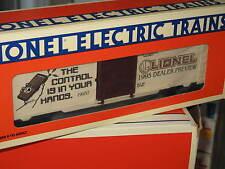 1995 Lionel 6-19937 Toy Fair Box Car Dealer Preview L0907