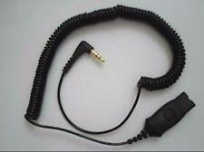 PLANTRONICS QD-to-3.5mm Cord for Alcatel 4028 4029 4038 4039 4068 8028 8029 8038
