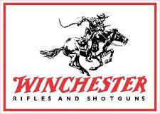 Winchester Logo Vinyl Gun Sticker Decal