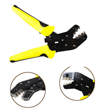 Mini Pin Ratchet Terminals Crimping Pliers Cable Wire Cutter Tool Kit For Dupont