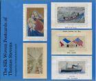 "Book: ""The Silk Woven Postcards of Thomas Stevens"" (Stevengraph) Hardback New"