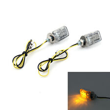 LED Chrome Micro Mini Tiny Small Indicators Clignotante Motorcycle MotorBike