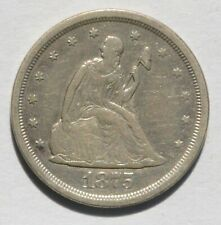 1875-S Liberty Seated Twenty Cent - Unslabbed, Uncertified - Very Fine