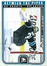 2013-14 ITG Between the Pipes Puzzle Antti Niemi 9 Teile San Jose Sharks NHL