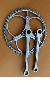plateau acier Nervar old veli altes fahrrad vintage fram veccchio  old crankset
