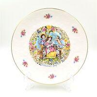 Vintage Royal Doulton Valentine's Day Plate 1978 Cherub Angel Cupid Poem Flowers