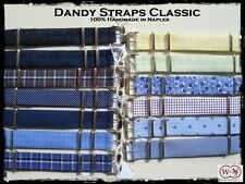 Dandy Nato Classic Cinturini sartoriali da 18-20mm. Handmade sartorial straps.