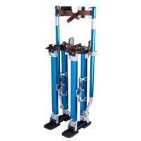 Drywall Stilts 24-40 Inch Aluminum Tool Stilt For Painting Painter Taping Blue