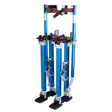 Drywall Stilts 24-40 Inch Aluminum Tool Stilt For Painting Painter Taping Blue