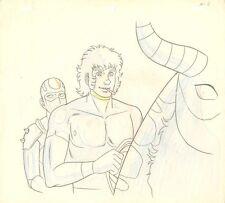 Anime Genga not Cel Space Adventure Cobra #4