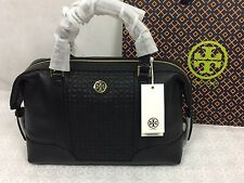 NWT Tory Burch Bryant Mini Quilted Leather Satchel , Black # 18169683
