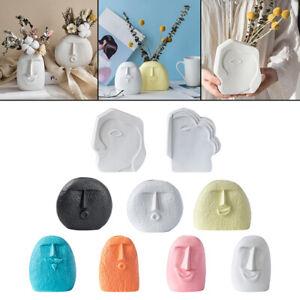 Ceramic Vase Flower Planter Plant Pot Home Decorative Human Face Wedding