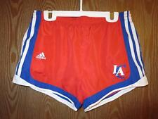 NEW-mended Los Angeles Clippers Girls M Medium 10/12 Adidas Shorts 71FF