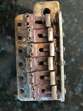 66-74 FENDER RELIC AGED STRATOCASTER HARDWARE, SADDLES, SCREWS, INPUT AND MORE.
