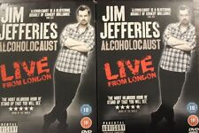 JIM JEFFERIES: ALCOHOLOCAUST LIVE FROM LONDON RARE DELETED OOP DVD COMEDY FILM