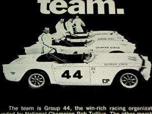 1968 TRIUMPH TR250/TR4A/SPITFIRE VINTAGE AD *fender/grille/emblem/decal/1969-70
