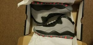 Air Jordan 10 Retro - Cool Grey/Infrared-Black Detailed Images | Sole Collector
