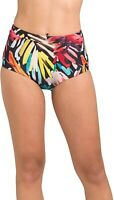 prAna Women's 189048 Millan Bikini Bottom Black La Flora Swimwear Size S