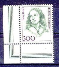 1433 postfrisch  Frauen Fanny Hensel Bund  1989 Eck 1 oder 2