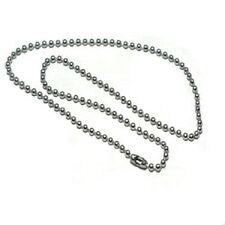 Stainless Steel 22 Inch 3.2mm Ball Link Neck Chain Necklace