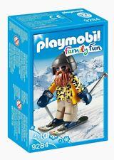 Playmobil ® family fun-hizo esquiador con snowblades - 9284-nuevo