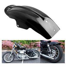 Black Rear Mudguard Fender For Harley Sportster Bobber Chopper Racer 883 1200