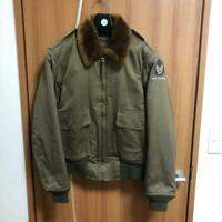 BUZZ RICKSON'S Authentic B-10 Flight jacket BR11133 Size 36 Used from Japan