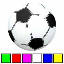 4 Stück Fußball Plastikball Plastikfußball Kunststoffußball Bälle 20cm Fußbälle