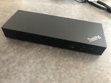 Lenovo ThinkPad Workstation Thunderbolt 3 Dock incl. 230W Netzteil Aussteller