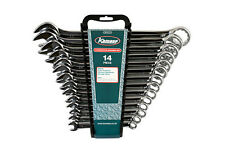 KAMASA COMBINATION SPANNER WRENCH SET 14 PIECE 10mm - 32mm & HOLDER