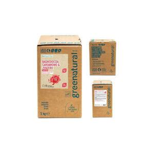 GREENATURAL BAG 5 Kg Bagnodoccia CARDAMOMO & ZENZERO - ecobio
