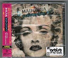 Sealed MADONNA Celebration JAPAN CD WPCR-13679 w/OBI+PROMO STICKER 2009 issue