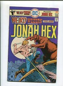 WEIRD WESTERN STORIES #32 (6.0) BIGFOOTS WAR! 1976