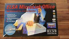 ELSA MicroLink - ELSA Mikrolink Office - ELSA analog Modem extern - kpl OVP*TOP*