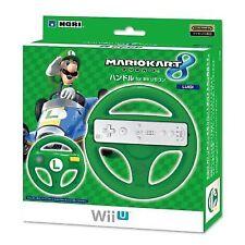 Hori Wii U Luigi Steering Wheel for Mario Kart 8 Handle Controller