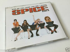 Spice GIRLS-who do you think you are/MAMA-CD MAXI SINGLE