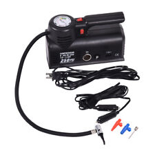250 PSI Mini Air Compressor 12V Car Auto Portable Pump Tire Inflator W/Carry bag