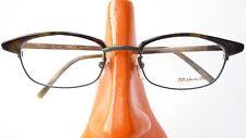 Brillen Fassung unisex College Stil Natur Metall Kunststoff Oberrand  size M
