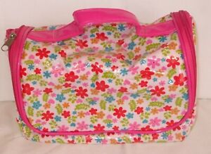 Ladies Pink Hanging Toiletry Bag