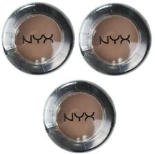 3 x NYX 1.5g EYE SHADOW NUDE MATTE NMS10 UNDERNEATH IT ALL 100% Brand New