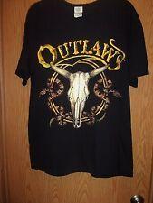 OUTLAWS black L t shirt together forever