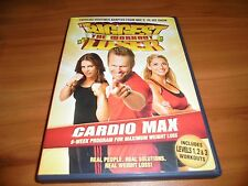 The Biggest Loser: The Workout - Cardio Max (DVD, 2007) Used Jillian Michaels