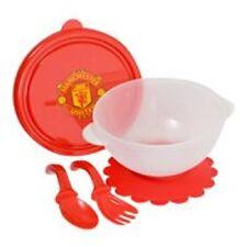 Manchester United FC Baby Weaning Feeding Bowl & Cutlery