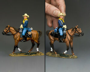 KING & COUNTRY THE REAL WEST TRW140 U.S. CAVALRY MOUNTED TROOPER B MIB