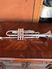 Silver plated Bach Stradivarius #37 Trumpet