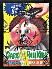 1987 Topps Garbage Pail Kids 9th Series Box 48 Unopened Packs BBCE Authenticated