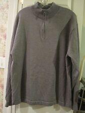 Linea Uomo men's XXL zip neck sweater