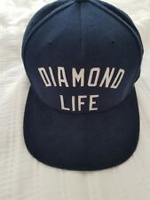 Diamond supply co snapback baseball cap Navy