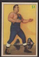 1955 Parkhurst Wrestling #51 Doug Hepburn