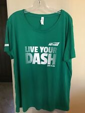 "All Sport- ""Pat's Run"" shirt- 100% Polyester- XL-Green- Pat Tillman"